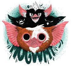 James Burlinson - Gremlins - Fan-Art #3, via Flickr.