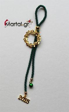 Γουρια Christmas Crafts, Xmas, Pendant Necklace, Handmade, Diy Ideas, Charms, Greek, Jewelry, Decoration