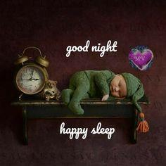 Good Night Baby, Sleep, Happy, Happiness