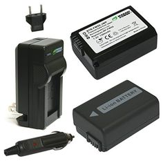 Wasabi Power Battery (2-Pack) and Charger for Sony NP-FW50 and Sony Alpha 7, a7, Alpha 7R, a7R, Alpha 7S, a7S, Alpha a3000, Alpha a5000, Alpha a6000, NEX-3, NEX-3N, NEX-5, NEX-5N, NEX-5R, NEX-5T, NEX-6, NEX-7, NEX-C3, NEX-F3, SLT-A33, SLT-A35, SLT-A37, SLT-A55V, Cyber-shot DSC-RX10 Wasabi Power http://www.amazon.com/dp/B0049WBZEK/ref=cm_sw_r_pi_dp_UYM2vb1R98M8G