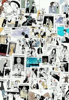 Cassandra Jean likes to draw for Cassie. A lot. (TMI) (TID) (TDA) (TLH) (TBC) (TARROT)