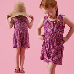 Pretty Printed Rompers