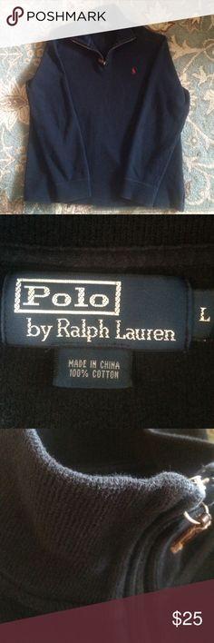 Mens zip neck polo Has been worn but still in good condition Ralph Lauren Sweaters