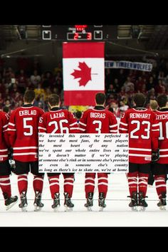 Team Canada    GO CANADA GO!! We did it...3-0;-)