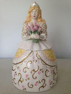 Appletree Designs Princess Figural Cookie Jar Designed by Lee Fitzgerrell #Appletree