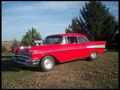 We're coming Kansas City!    1957 Chevrolet Bel Air Pro Street    #MecumKC
