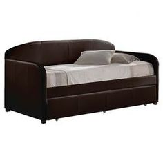 Springfield Trundle Daybed in Brown...WAYFAIR.COM