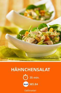 Hähnchensalat - smarter - Kalorien: 385.84 kcal - Zeit: 35 Min. | eatsmarter.de