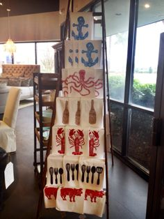 Linens at Agnes Agatha Homemaker Shop.