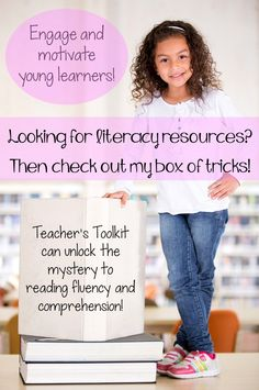 Stop by Teacher's Toolkit and explore her box of tricks to engage, encourage and enable elementary learners to unlock the key to the English Language!  Teacher's Toolkit's digital teaching resources cover all areas of the literacy/ELA curriculum.  Your student will be a skilful and confident learner in no time!