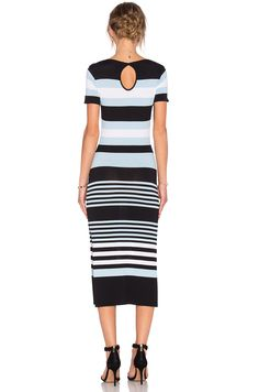 Lovers + Friends Diary Dress in Multi Stripe