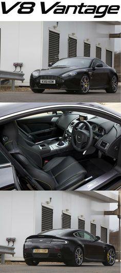 Aston Martin V8 Vantage. Discover more at http://www.astonmartin.com/cars/the-vantage-range/v8-vantage #AstonMartin
