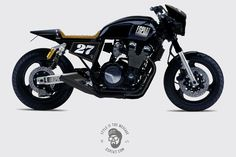 Concept to Cafe Racer - Espiat Yamaha XJR ~ Return of the Cafe Racers