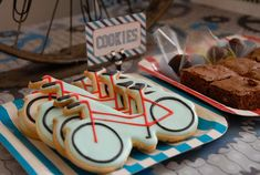 Bicycle, bike party Birthday Party Ideas | Photo 1 of 27 | Catch My Party