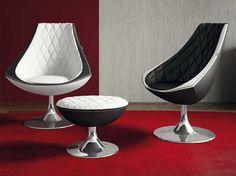 VELA Easy chair by Formenti design Tiziano Formenti