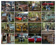 Old Car City in White Georgia near Atlanta