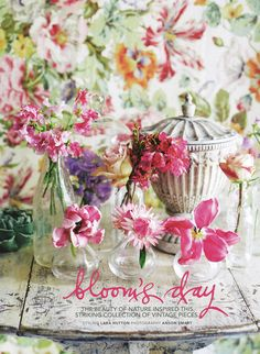 Spring flowers Photography Sharyn Cairns via Country Style magazine