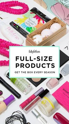 Sign up for FabFitFun! Save $10 on your first box with Code SRT10