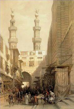 Arab market old Jerusalem