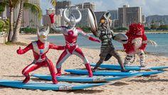 Ultraman Goes to Hawaii - wayvs