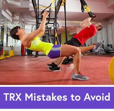6 TRX Mistakes and How to Fix Them