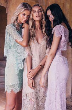 La Nouvelle Belle bridesmaid dress collection from Grace Loves Lace
