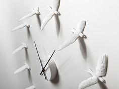 Swallow Clock by Haoshi Design