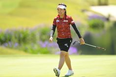 Pei-Ying Tsai Photos Photos - Pei-Ying Tsai of Taiwan smiles during the first round of the Resorttrust Ladies at the Oakmont Golf Club on May 26, 2017 in Yamazoe, Japan. - Resorttrust Ladies - Day 1