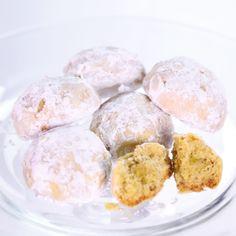 the chew | Recipe  | Carla Hall's Lemon Cardamom Wedding Cookies