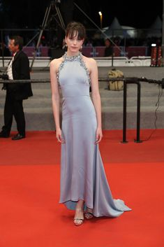 Stacy Martin Photos Photos - 'Redoubtable (Le Redoutable)' Red Carpet Arrivals - The 70th Annual Cannes Film Festival - Zimbio