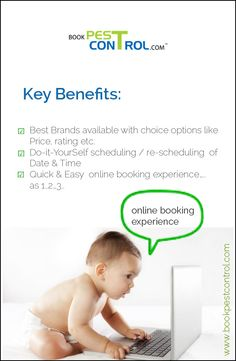 Get online booking experience with us.. #bookpestcontrol  visit: http://bookpestcontrol.com/