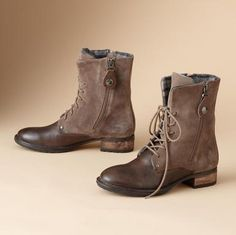 Pajar boots - don't really fancy the heel, but the rest is great!