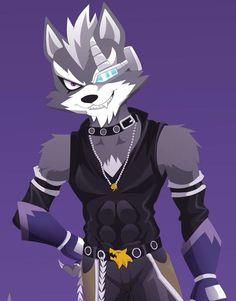 This is my first time bein on deviantArt so this is my first drawin of one of my favorite Starfox characters Wolf O'Donnell!, hope yall like it Wolf O'Donnell/Starwolf Star Fox, Wolf Character, Character Design, Nintendo World, Nintendo Sega, Fox Mccloud, Super Smash Bros, Digimon, Furry Art