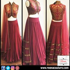 Indowestern Lehenga Choli with soft net and border placement in Lehenga and silk blouse with Zari and pitta work net Dupatta.  For more details please call or whatsapp on 9819416785 or share your number we will call you.  http://www.reenacouture.com/  #gownsforcheap #designerdressesforcheap #designer #dresses #for #cheap #discounted #sale #customized #western #dress #bridal #replica #Bollywoodlook #plus-size #plus # size #xxxl #xxxxl #5xl #tailors #whole-seller #beautifulCollection…