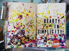 Donna Downey - inspiration wednesday vids -  this one uses golden absorbent ground: turns any paper into watercolourpaper!!!
