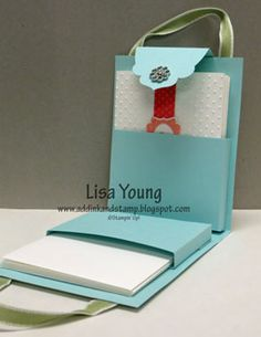 Box of Cards holds 5 cards made with  Four Frames stamp set, Big Shot and Embossing folders