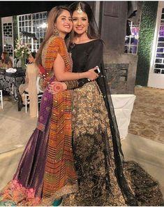 Zara Noor Abbas and Sajal Ali Walima Dress, Shadi Dresses, Pakistani Formal Dresses, Mehndi Dress, Pakistani Wedding Outfits, Indian Dresses, Dresses Short, Girls Dresses, Sajal Ali