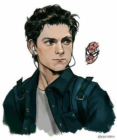 The Avengers 467600373806865599 - Tom Holland is Peter Parker ♥ Credits to the artist 🙂 Source by pascaledaran The Avengers, Avengers Fan Art, Marvel Dc Comics, Marvel Heroes, Captain Marvel, Die Rächer, Marvel Drawings, Drawings Of Men, Badass Drawings