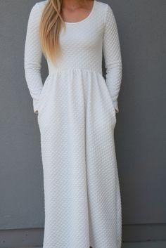 LDS Temple Dress