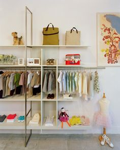 Milk is a children's clothing and toy store geared towards 0-5 year olds. The major design elements in the space include custom millwork m...
