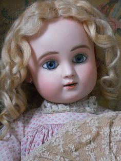 ~~~ Beautiful French Bisque BeBe Figure C. by Steiner ~~~ from whendreamscometrue on Ruby Lane: