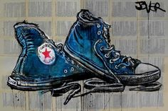 "Saatchi Online Artist Loui Jover; Drawing, ""well worn heroes"" #art"