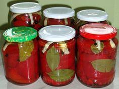 Gogosari murati pentru iarna Mason Jars, Mason Jar, Jars