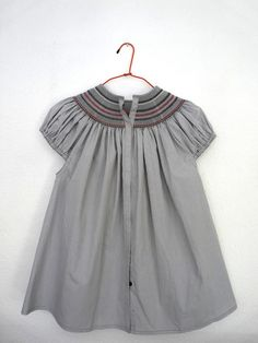 Dress  gray is one of my fave colors for girls!