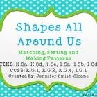 Shapes-Aligned to TEKS and as well as Common Core State Standards and Center Di. Free Math Games, Math Activities, Kindergarten Math, Teaching Math, Teacher Sites, Math Strategies, Second Grade Math, G 1, Distinguish Between