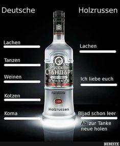 Deutsche vs. Holzrussen..   Lustige Bilder, Sprüche, Witze, echt lustig