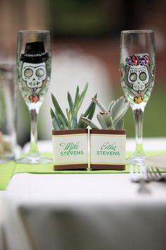 Lime Halloween Wedding //  photo love stories