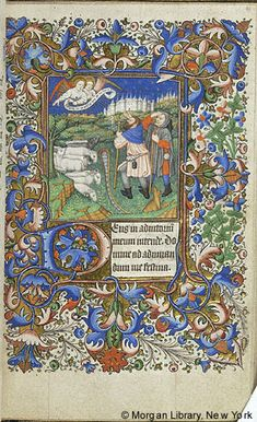 Book of Hours, MS G.9 fol. 41r - Images from Medieval and Renaissance Manuscripts - The Morgan Library & Museum