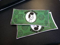 We are at the Summer Reading program themed around  Diary of a Wimpy Kid . The prizes for the trivia questions are Mom Bucks. That is awesome. — at Columbus Metropolitan Library - Gahanna Branch.