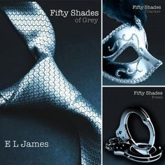 The Fifty Shades Trilogy (Fifty Shades of Grey, Fifty Shades Darker, and Fifty Shades Freed): Such good books. Very naughty, but very sweet too. But VERY naughty :) Love the email conversations the best. fifty-shades-of-grey Book Tv, Book Nerd, The Book, Book Series, I Love Books, Books To Read, Amazing Books, Best Seller Libros, Shades Of Grey Book